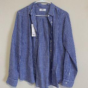 Uniqlo Light Linen Checkered Shirt